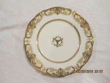 Antique Theodore Haviland Dinner Plate Made in France expressly for JE Caldwell
