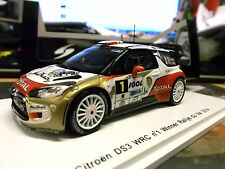 Citroen ds3 wrc winner rally du Var 2014 loeb sf081 Spark 1:43