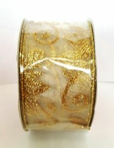 """WIRED RIBBONS FOR CHRISTNAS, WEDDING1.5""""W to 3""""W, 3YDS to 50YDS VARIETY NEW"""