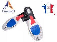 SUIVI Taille 40 à 44- 1 Paire de Semelles orthopédique Gel Amorti Les Chocs