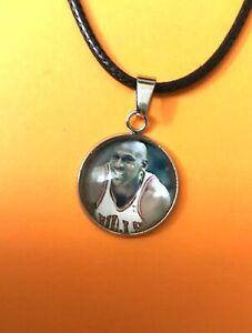 Basketball Great Michael Jordan Charm Pendant Necklace