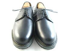 """NEW Allen Edmonds """"WANDERER COMFORT SHOE"""" Plain Toe Blucher 8 EEE Black  (108)"""