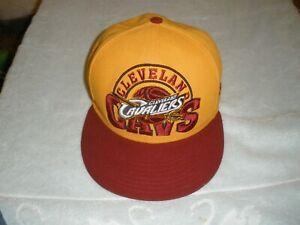 Cleveland Cavaliers new era 59fifty hat one size medium-large nice
