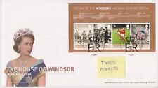 Tallents PMK GB Royal mail FDC 2012 House of Windsor età Windsor foglio in miniatura