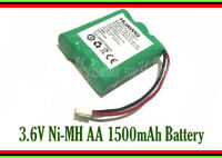3.6V AA Ni-MH 1500mAh 3 Cell Pack Battery XH 3-Pin Plug wire for Cordless Phone