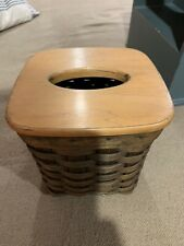 Longaberger Tissue Box With Lid 2003