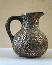Kirk and Son Hand Decorated Sterling Silver Pitcher