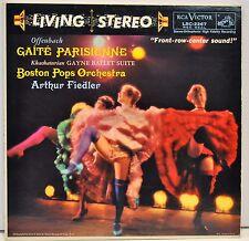 "OFFENBACH ""Gaite Parisienne"" Fiedler / Boston Pops - RCA Victor LSC 2267"