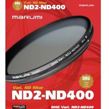 Marumi 58mm DHG ND2-ND400 Variable Neutural Density Filter - DHG58VND