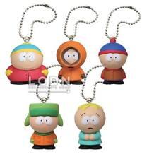 South Park Mascot Porte-Clefs Keychain x 5 Takara Tomy set Cartman Kenny Stan ++