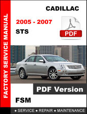 CADILLAC STS 2005 2006 2007 OEM SERVICE REPAIR WORKSHOP FACTORY FSM MANUAL