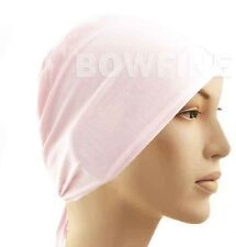 c89bf96a9bb3 Under Scarf Cap Hijab Arc Scarf Tube Bone Bonnet Chemo Hair Wrap Loss Head  Band