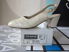 Clothing, Shoes & Accessories Mälich Damenschuhe Pumps Ballerinas Blau 80er True Vintage 80s Shoes Blue Nos