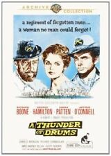 A THUNDER OF DRUMS. Richard Boone (1961). Region free. New DVD.