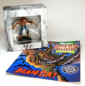 EAGLEMOSS MAN-BAT SUPER HERO COLLECTION SPECIAL MAGAZINE AND FIGURINE