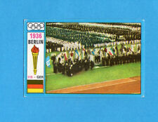 OLYMPIA-1972-PANINI-Figurina DA INCOLLARE! n.115- BERLINO 1936-CERIMONIA AP.-Rec