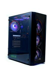 ATX Computer Case With 4 RGB Fan. Veno Scorp