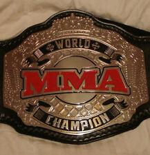 PREMIER MMA CHAMPIONSHIP WRESTLING BELT MEGA DELUXE WWE WWF UFC TITLE WCW ULTRA
