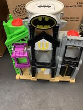 Fisher Price Imaginext Super Friends Bat Cave Lights Up + Sounds Works!