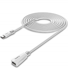 Micro USB Extension Cable 20ft Male to Female Extender Cord Zmodo Camera