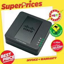 CISCO◉SPA112◉2 Port Analogue Phone Adaptor (ATA)◉For VOIP FAX◉SPA -112
