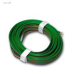 (0,80€/m) 5m Kupferlitze 4-adrig 0,14mm² Litze zB f RGB