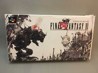 FINAL FANTASY VI 6 Boxed SNES SFC Nintendo Super Famicom JAPAN