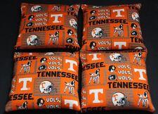 University of Tennessee Cornhole Bean Bags 4 ACA Volunteers Vols UT Toss Bags