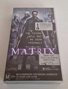 VHS Movie The Matrix Special Collectors Edition