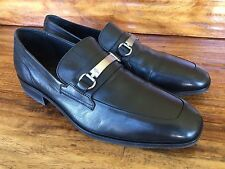 Men's Cole Haan Dress Bit Loafers Shoes Black Soft Leather 9 M