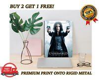Underworld Kate Beckinsale METAL Poster Vampire Movie Art Print Plaque Gift