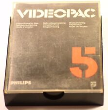 VINTAGE PHILIPS G7000 CONSOLE COMPUTER VIDEOPAC 5 BLACK JACK GAME 1978