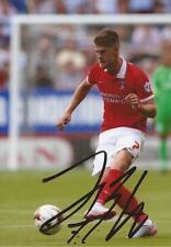 CHARLTON: JOHANN GUDMUNDSSON SIGNED 6x4 ACTION PHOTO+COA
