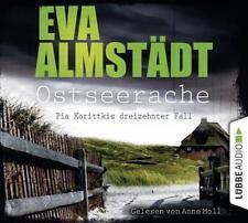 Ostseerache. NEU + OVP. Hörbuch von Eva Almstädt, gelesen von Anne Moll. 4 CDs
