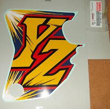 YAMAHA yz80 (94-96) la scritta adesivo rivestimento laterale STICKER SIDE COVER