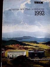 Catalogo TRIX novità 1992 - ENG FRA DEU - Tr.13