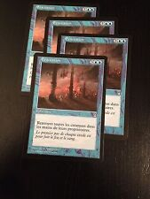 MTG MAGIC STRONGHOLD EVACUATION (FRENCH EVACUATION) NM X4