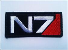 MASS EFFECT Aufnäher Patch N7 Logo Aufbügeln / Aufnähen Merchandise