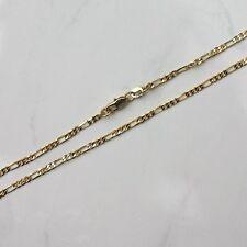 Figaro-Kette echt pl. Gold mit 18 K gestempelt 67 cm (g8