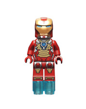NEW LEGO IRON MAN FROM SET 76008 IRON MAN 3 (sh073)