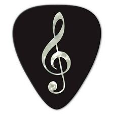 5 x Grover Allman Unlimited Edition Pearl Treble Clef Guitar Picks *NEW* Bag