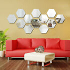 New Removable Home Mirror Wall Stickers Decal Art Vinyl Home Room Decor DIY 3D +