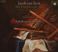 ERIK BOSGRAAF - VAN EYCK: DER FLUYTEN LUST-HOF 3 CD NEU EYCK,JACOB VAN