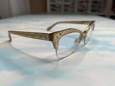 Kate Spade Lyssa Eyeglasses - Gold Glitter - Prescription Frames - Very Rare