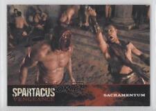 2013 Rittenhouse Spartacus: Vengeance Premium Packs #E21 Sacramentum Card 1d3