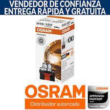 OSRAM H15 Estándar Bombilla De Repuesto Para Faro (Paquete Una)