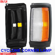 Mitsubishi Dodge Ram 50 Triton L200 Strada Black Front Corner Light Pair 87-96