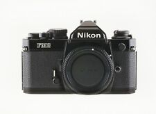 NIKON FM2N BLACK BODY LATE MODEL TESTED WORKING & IN PRISTINE CONDITION.