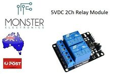 5V 2 Channel Relay Module for Arduino ARM PIC AVR DSP Pi Electronic 10A