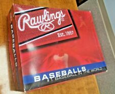 Rawlings RTD2 Official League Genuine Leather Baseballs (12 pack)